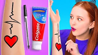 BEAUTY HACKS TO MAKE YOU A STAR! || Funny Life Hacks For Girls by 123 Go! Gold