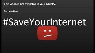 Goodbye YouTube - No more Putin,Justin,dan - Artical 13 - #SaveYourInternet