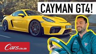 All-new Porsche 718 Cayman GT4 Review - The perfect driver's car?