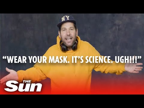 Cringe Cuomo covid campaign – Paul Rudd ask millennials to 'mask up'