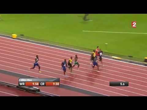 Video: Ustin Gatlin beats Usain Bold and wins 100m final 9.92s