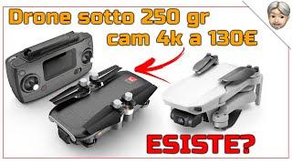 Drone sotto 250gr camera 4k a 130€? Esiste? Si è il BUGS 7