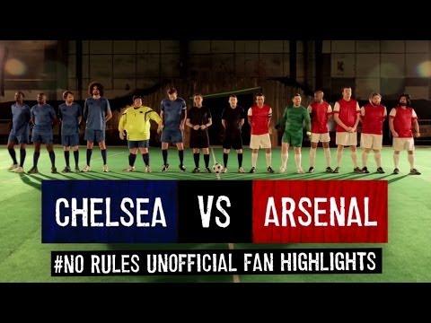 Mô phỏng lại trận Chelsea 6-0 Arsenal cực bựa