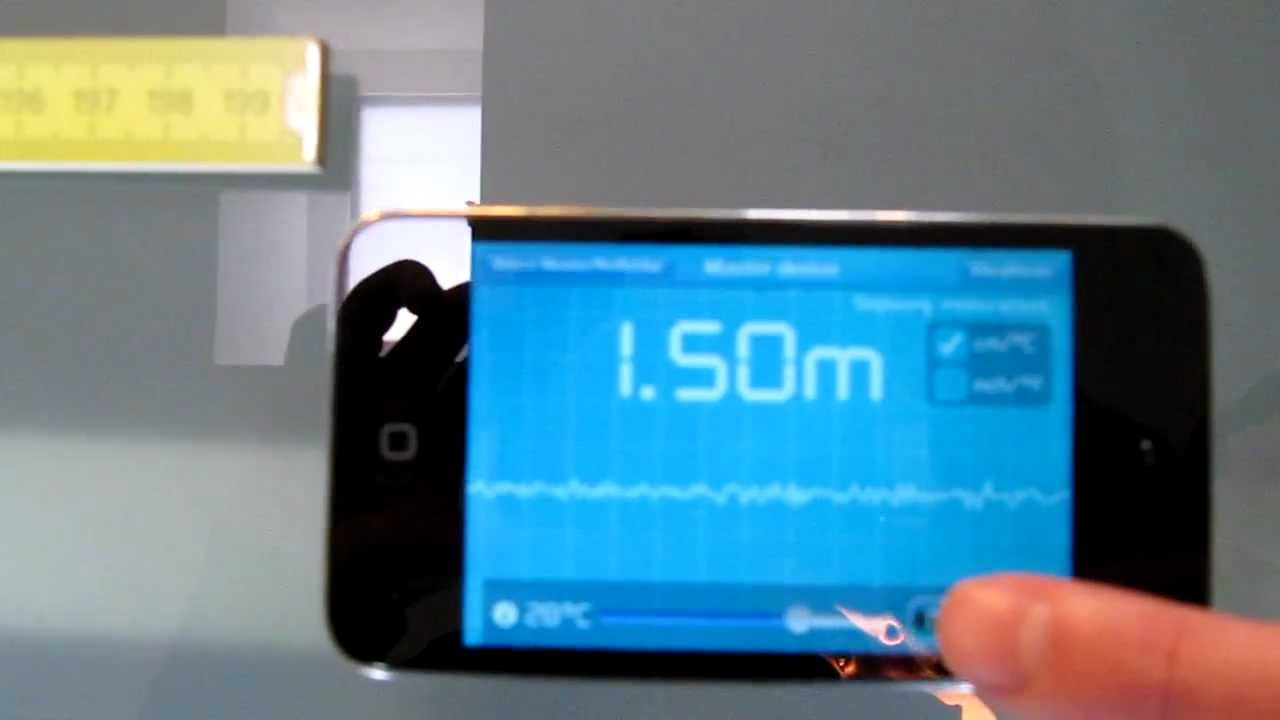 Acoustical Ruler App Measures Distances With Your iPhone Like A Submarine