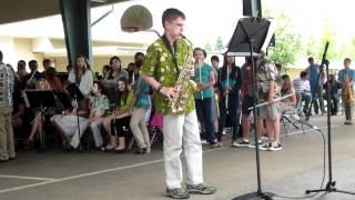 The Entertainer on Alto Saxophone