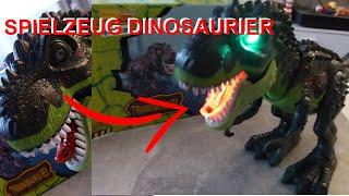 Heute im Test : KINGBOT Spielzeug Dinosaurier mit Sound Effekten | iTsRonny | Dresden