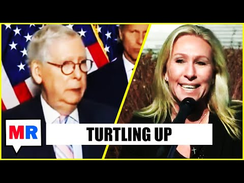 McConnell Wants No Smoke With Marjorie Taylor Greene