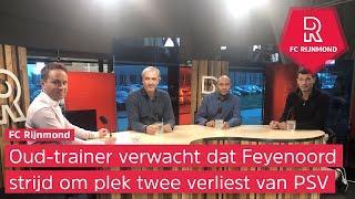 Robert Maaskant in FC Rijnmond: 'Ik denk dat Feyenoord keurig derde wordt'