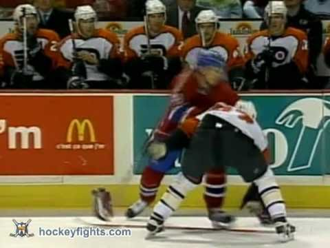 Mike Komisarek vs. Donald Brashear