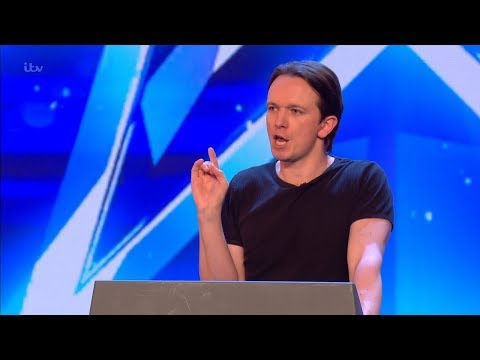 Britains Got Talent 2018 Andrew Lancaster Impersonator Full Audition S12E02