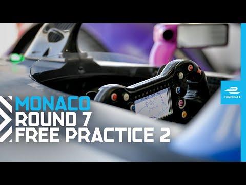 フォーミュラE モナコE-PRIX フリープラクティス2のフル動画
