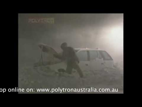 Polytron Snow storm test