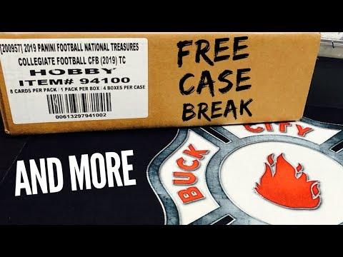FREE National Treasures Break & MORE!!! - 9.20.19