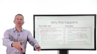 Killik Explains: Why does the FTSE 100 rise when the pound falls?