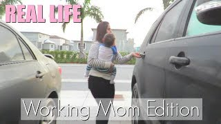 REAL LIFE ♡ DAY IN THE LIFE OF A WORKING MOM