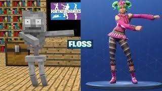 Monster School : FORTNITE BATTLE ROYALE DANCE CHALLENGE All EPISODES- Minecraft Animation