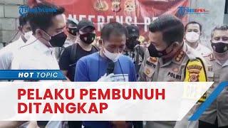 Pembunuh Pemilik Warung Nasi di Bogor Ditangkap, Sudah Direncanakan sejak Idul Adha