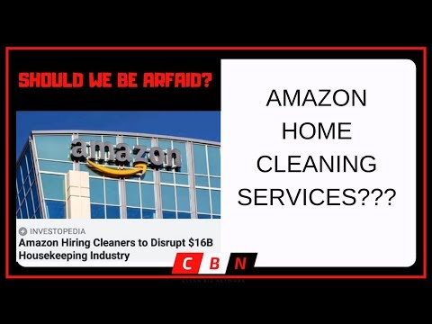 AMAZON HOME SERVICE - Amazon Started A Cleaning Company???