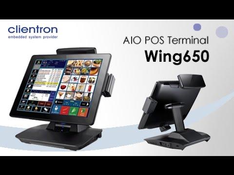 15.6吋無風扇寬螢幕端點銷售系統