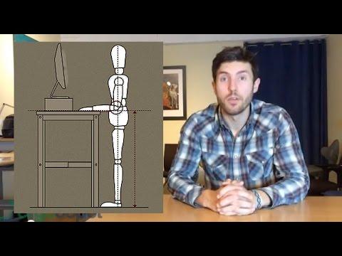 Adjustable Desk Height - The Correct Height for Standing Desks