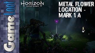 Horizon Zero Dawn Metal Flower Location - Mark 1(A) Ruin Location