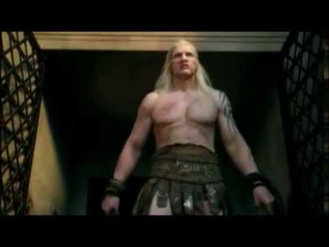 Theokoles entrance into arena from Spartacus Blood and sand
