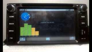 Автомагнитола под управлением Android CA-FI www.autozoom.kz