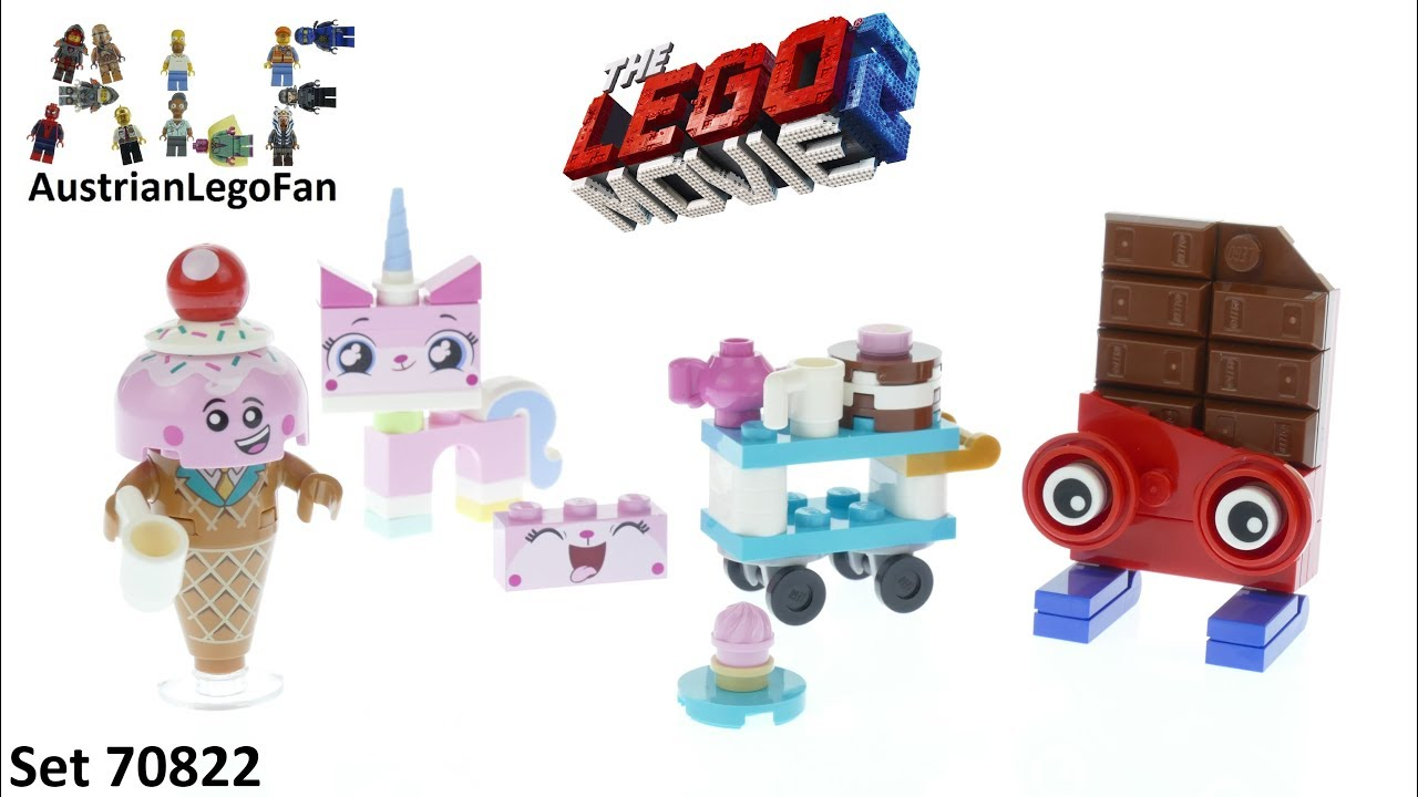 Lego Movie 2 70822 Unikitty's Sweetest Friends EVER! - Lego Speed Build Review