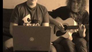 The Cheeky Song (Touch My Bum) - ACOUSTIC COVER - Scared Of Dinosaurs - Cheeky Girls