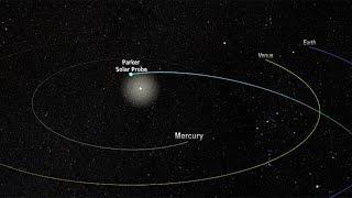 Parker Solar Probe - orbit and timeline (4K)