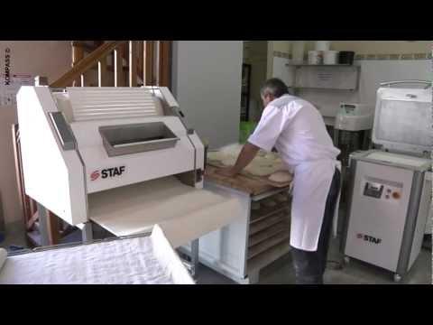 video 1, Façonneuse boulangerie STAF