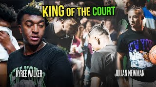 """I Should Be Wearing That Crown."" Julian Newman vs Kyree Walker & More In EXTREME King Of The Court!"