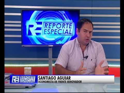 Santiago Aguiar en Reporte Especial