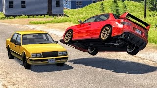 Lucky Guys #3 - BeamNG Drive Crashes, Fails, Near Misses, Funny Moments