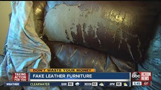 Dont Waste Your Money:  Beware Of Inexpensive Leather Furniture