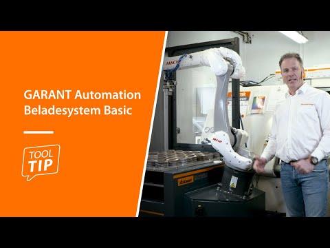 Tool Tip: GARANT Automation Beladesystem Basic
