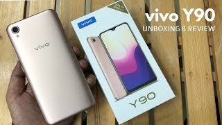 vivo y90 unboxing and review