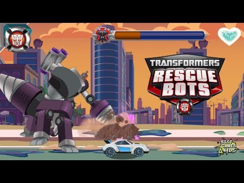 Transformers Rescue Bots: Disaster Dash Hero Run #247 | QUICKSHADOW Vs Morbot King!