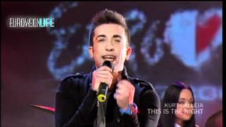 MALTA Eurovision 2012 This is the night - Kurt Calleja