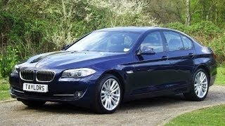 preview picture of video 'BMW 520D SE Saloon now sold by Taylors Pitstop Garage in Horley West Sussex'