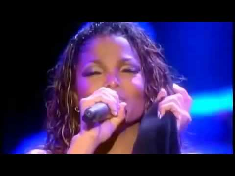 Janet Jackson Come back to me let's wait awhile again live in hawaii HD