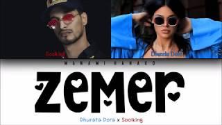 Dhurata Dora   Zemer Ft. Soolking (FrançaisEnglishShqip Lyrics) Color Coded