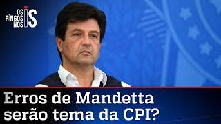 CPI deve começar dando palanque a Mandetta contra Bolsonaro