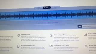 วิธีทำ ringtone iphone ด้วย mp3cut.net