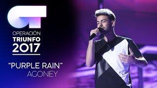 """Purple Rain"" - Agoney | Gala 0 | OT 2017"