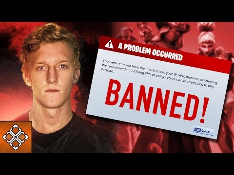5 Pro Fortnite Players That Got Banned (видео)
