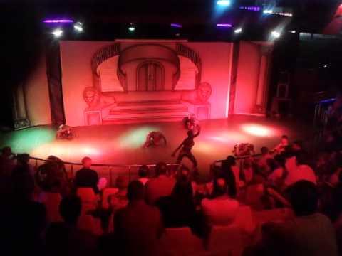 Kenyan girl dance.