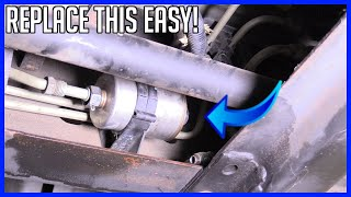 Fuel Filter Replacement Chevrolet