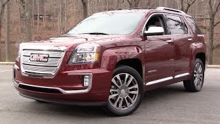 2016 GMC Terrain Denali (V6 AWD) Start Up, Road Test and In Depth Review