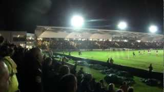 preview picture of video 'Welsh football derby: Newport County AFC - Wrexham FC - Goal for Newport!'